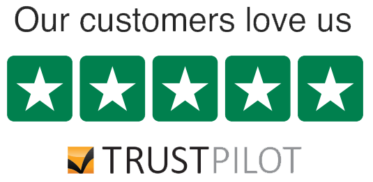 Shepley Heating Trustpilot Logo - 5* star reviews
