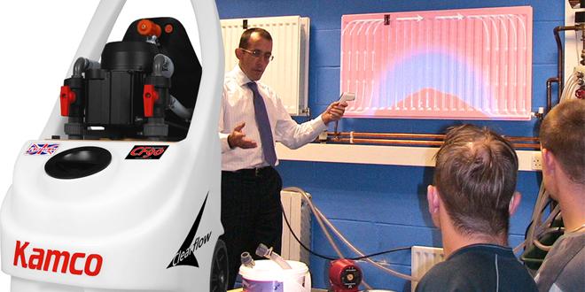 Kamco powerflush training - Shepley Heating and Plumbing (Banbury)